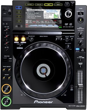 New Pioneer CDJ-2000 |