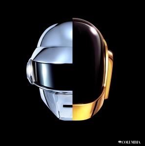 Daft Punk Helmets Columbia Album