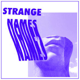 Strange Names - Potential Wife