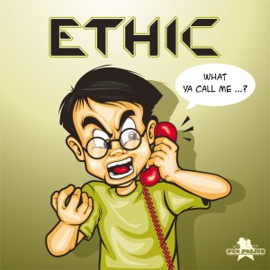 Ethic - What Ya Call Me EP - Artwork
